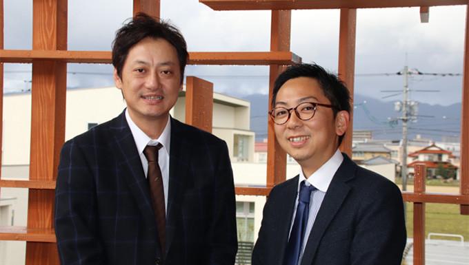 弊社代表・小村(左)とNSSOL吉山さん出典:日鉄ソリューションズWEBサイト「広報ノート」より